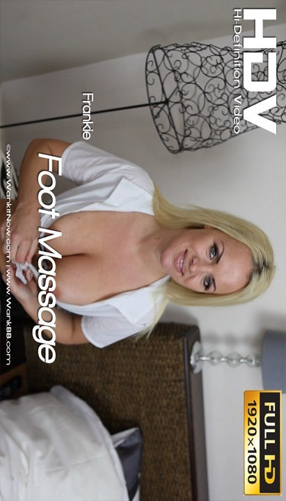 Frankie - `Foot Massage` - for WANKITNOW