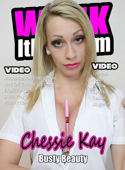 Chessie Kay - for WANKITNOW