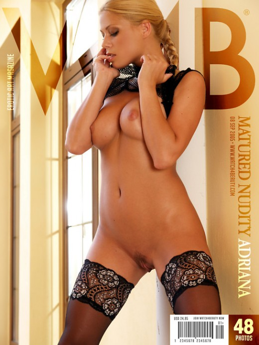 Adriana - `Matured Nudity` - by Mark for WATCH4BEAUTY