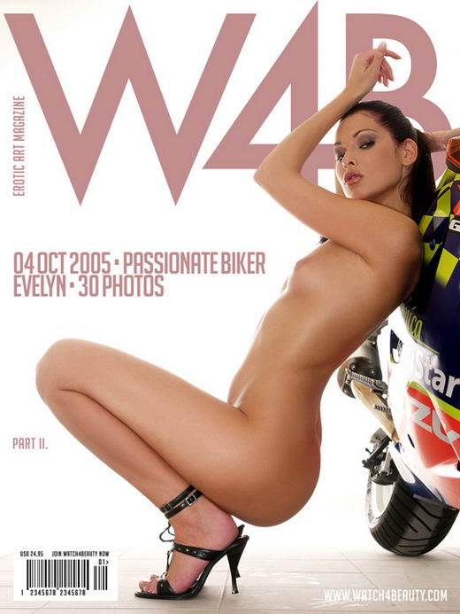 Evelyn - `Passionate Biker - Part II` - by Mark for WATCH4BEAUTY
