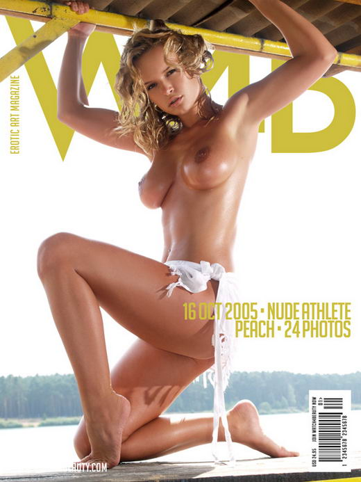 Peach - `Nude Athlete` - by Mark for WATCH4BEAUTY