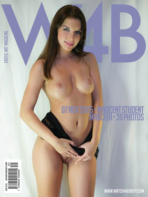 Marcela in Innocent Student gallery from WATCH4BEAUTY by Mark