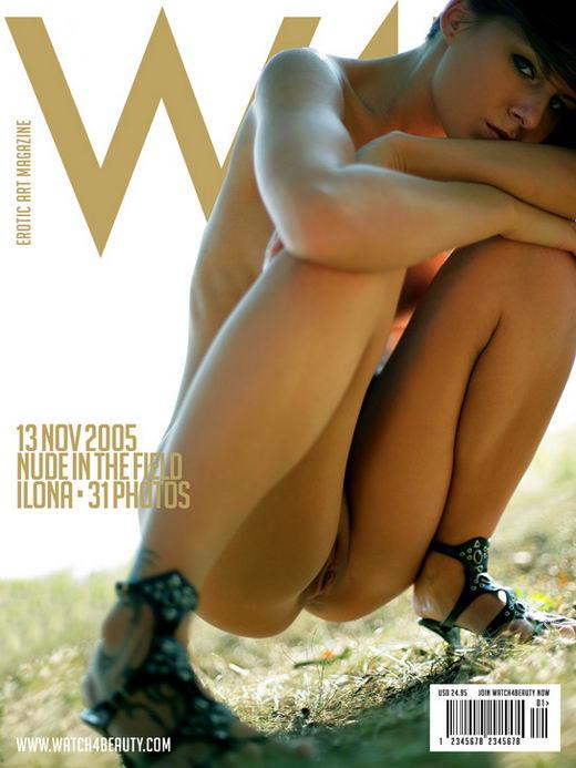 Ilona in Nude In The Field gallery from WATCH4BEAUTY by Mark