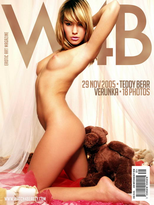 Verunka in Teddy Bear gallery from WATCH4BEAUTY by Mark