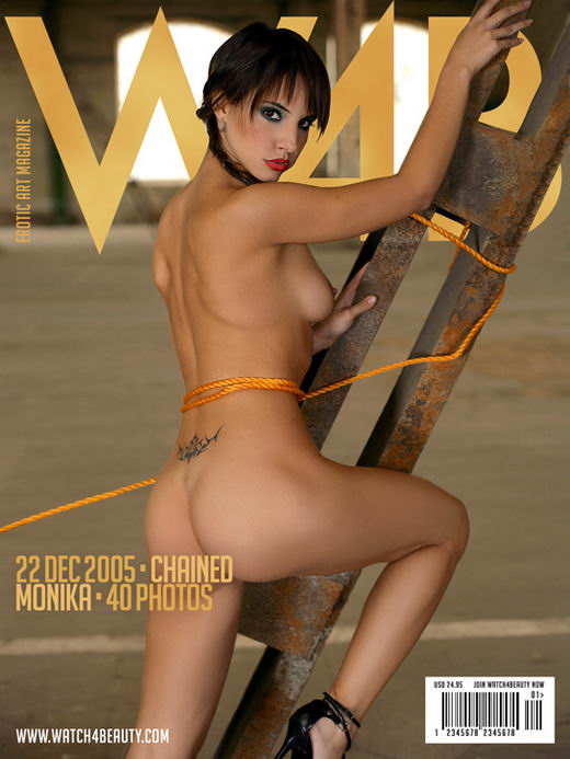 Monika Vesela in Chained gallery from WATCH4BEAUTY by Mark