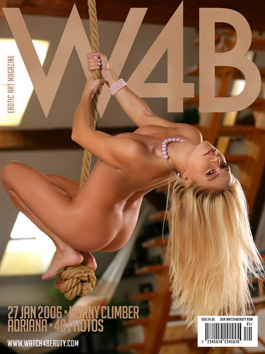 Adriana in Horny Climber gallery from WATCH4BEAUTY by Mark