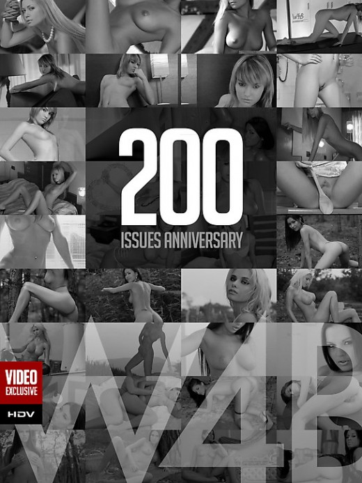 Unknown girl - `200 Issues Anniversary` - by Mark for WATCH4BEAUTY