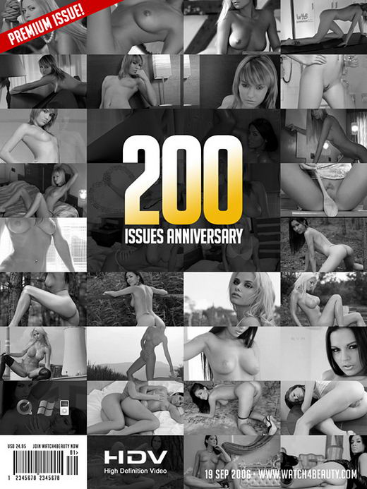 `200 Issues Anniversary` - by Mark for WATCH4BEAUTY