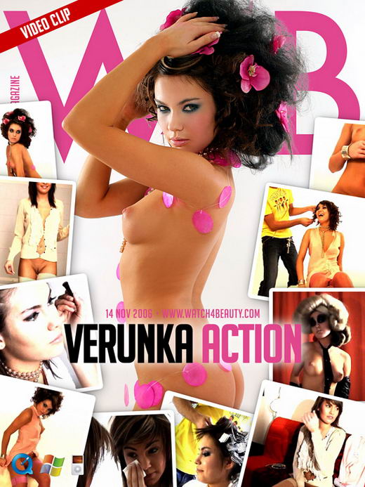 Verunka - `Action` - by Mark for WATCH4BEAUTY