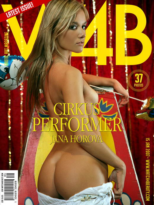 Jana Horova - `Cirkus Performer` - by Mark for WATCH4BEAUTY