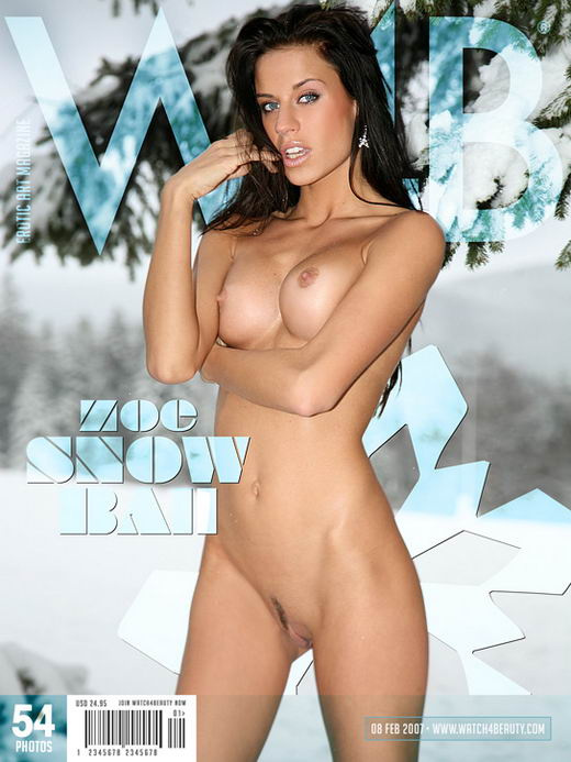 Zoe - `Snow Ball` - by Mark for WATCH4BEAUTY
