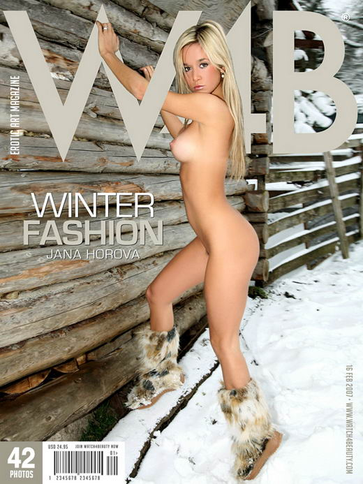 Jana Horova - `Winter Fashion` - by Mark for WATCH4BEAUTY