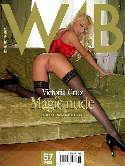 Victoria Cruz - `Magic Nude` - by Mark for WATCH4BEAUTY