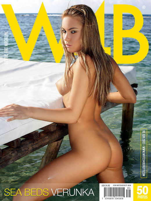 Verunka in Sea Beds gallery from WATCH4BEAUTY by Mark