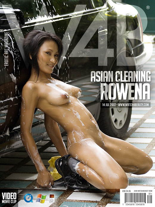 Rowena - `Asian Cleaning` - by Mark for WATCH4BEAUTY