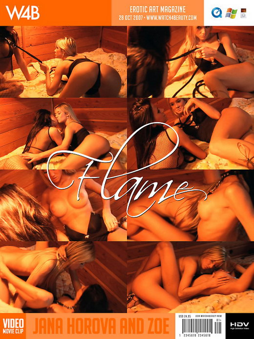 Jana Horova & Zoe - `Flame` - by Mark for WATCH4BEAUTY