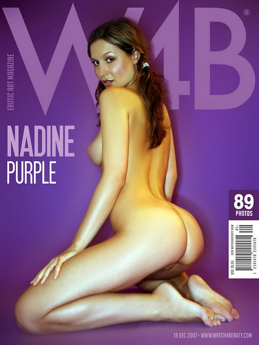 Nadine - `Purple` - by Mark for WATCH4BEAUTY