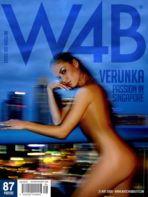 Verunka - `Passion in Singapore` - by Mark for WATCH4BEAUTY