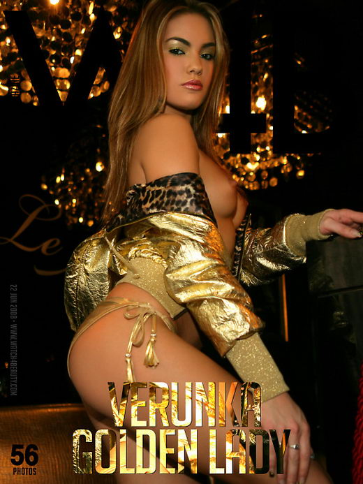 Verunka in Golden Lady gallery from WATCH4BEAUTY by Mark