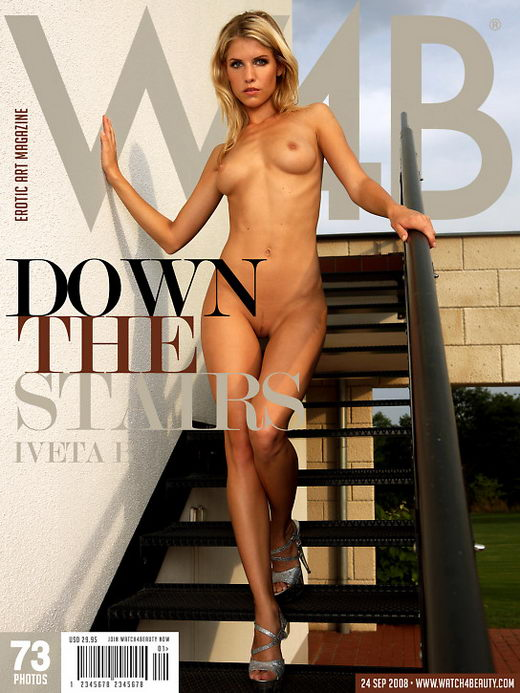 Iveta B - `Down the stairs` - by Mark for WATCH4BEAUTY