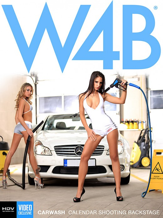 Monika Vesela & Verunka - `Carwash` - by Mark for WATCH4BEAUTY