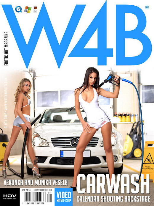 Monika Vesela & Verunka - `Carwash` - by Mark for WATCH4BEAUTY