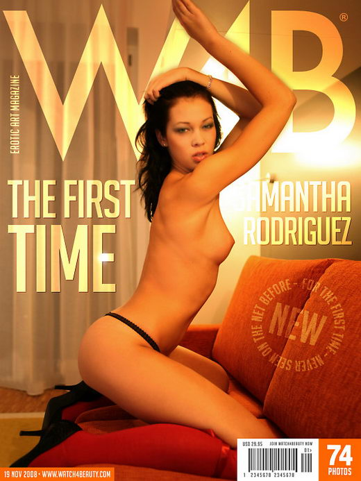 Samantha Rodriguez in The First Time gallery from WATCH4BEAUTY by Mark