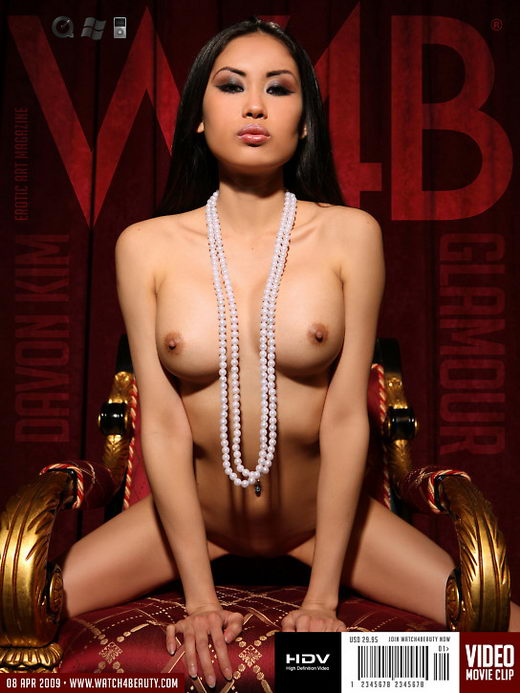 Davon Kim - `Glamour` - by Mark for WATCH4BEAUTY