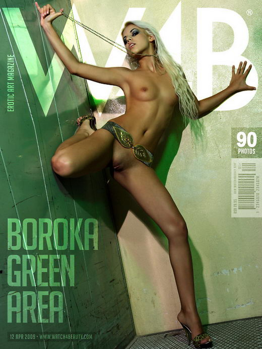 Boroka - `Green Area` - by Mark for WATCH4BEAUTY
