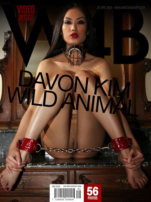 Davon Kim - `Wild Animal` - by Mark for WATCH4BEAUTY