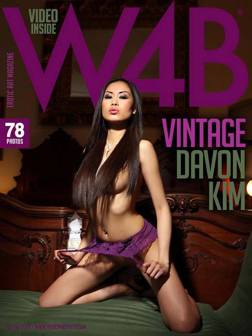 Davon Kim - `Vintage` - by Mark for WATCH4BEAUTY