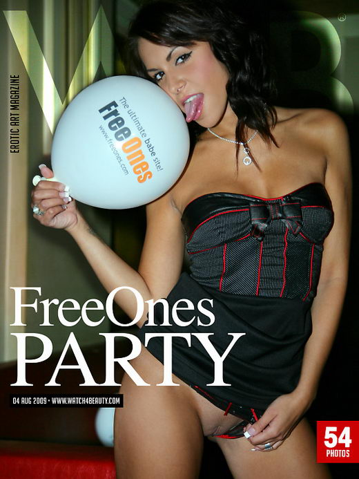 Len1cka - `FreeOnes Party` - by Mark for WATCH4BEAUTY