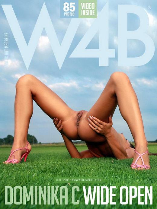 Dominika C - `Wide Open` - by Mark for WATCH4BEAUTY