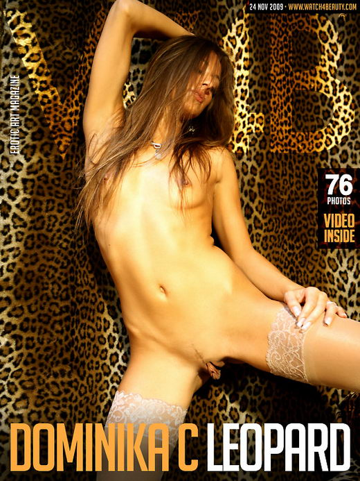 Dominika C - `Leopard` - by Mark for WATCH4BEAUTY