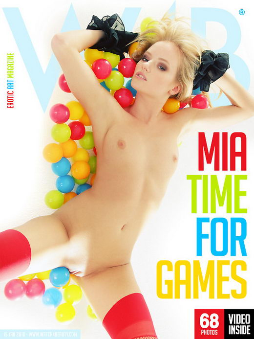 Mia - `Time For Games` - by Mark for WATCH4BEAUTY