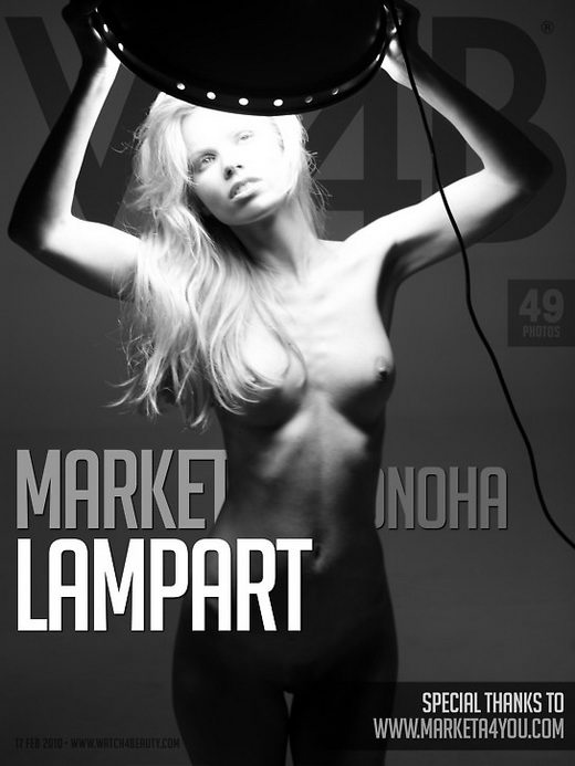 Marketa Belonoha - `Lamp Art` - by Mark for WATCH4BEAUTY