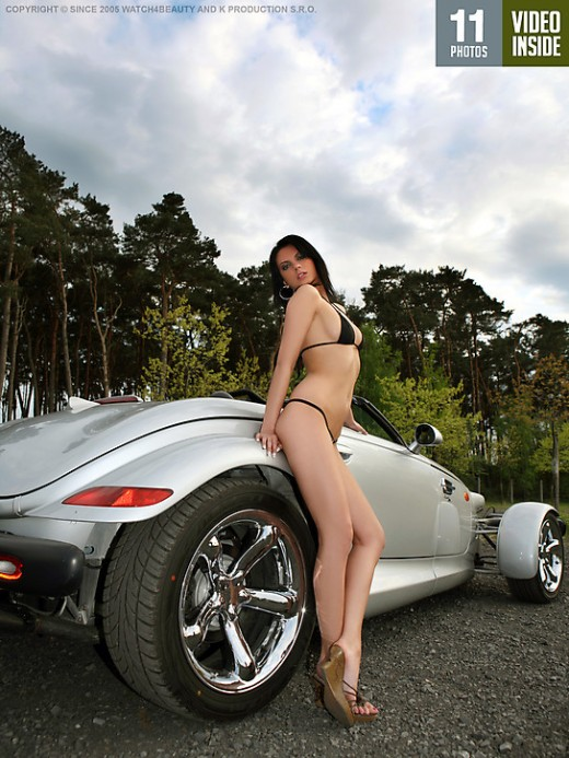 Unknown girl - `W4B Magazine - Play With Plymouth Prowler` - by Mark for WATCH4BEAUTY