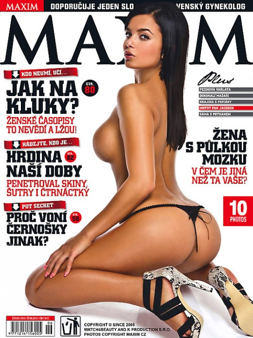 W4B Magazine - `W4B Magazine - W4B Girls In Maxim` - by Mark for WATCH4BEAUTY