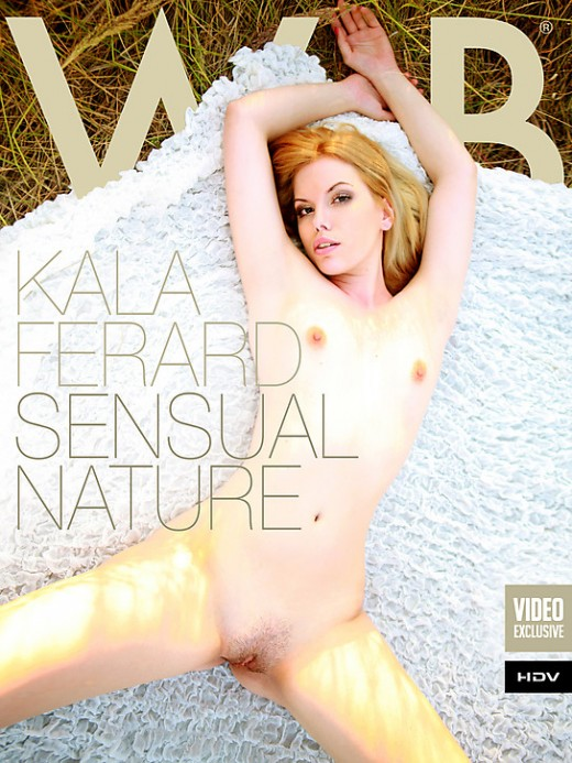 Kala Ferard - `Sensual Nature` - by Mark for WATCH4BEAUTY