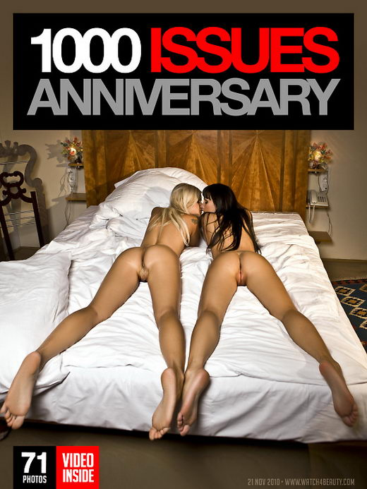 Marta & Bridget - `1000 Issues Anniversary` - by Mark for WATCH4BEAUTY