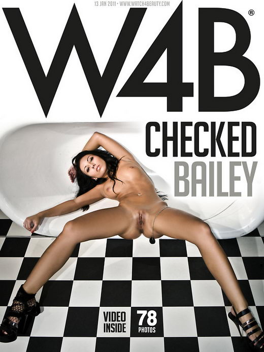 Bailey - `Checked` - by Mark for WATCH4BEAUTY