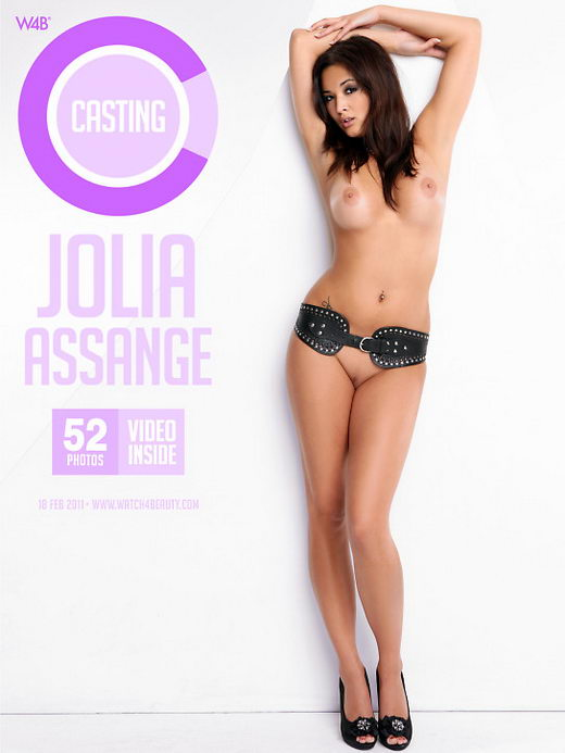 Jolia Assange - `Casting Jolia Assange` - by Mark for WATCH4BEAUTY