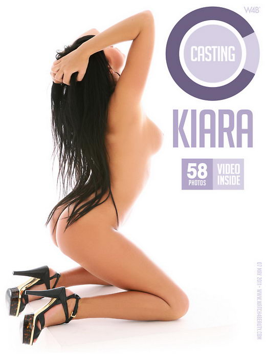 Kiara - `Casting Kiara` - by Mark for WATCH4BEAUTY