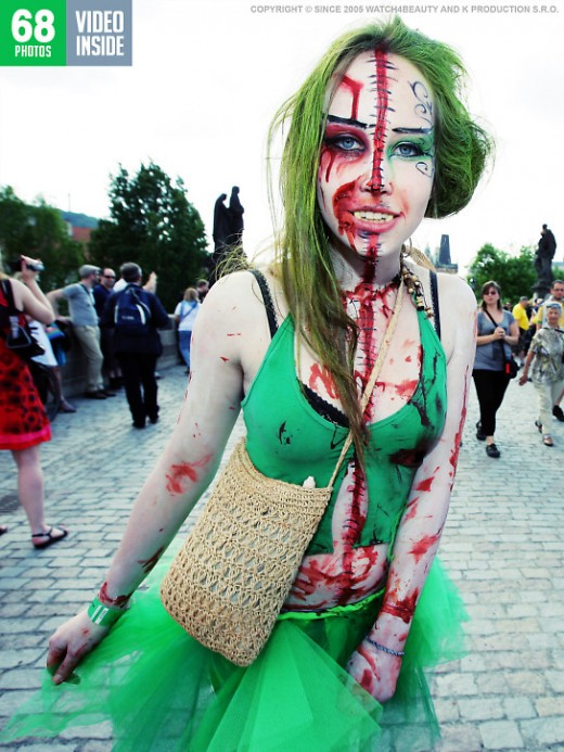 `W4B Magazine - Zombie Walk 2011` - by Mark for WATCH4BEAUTY