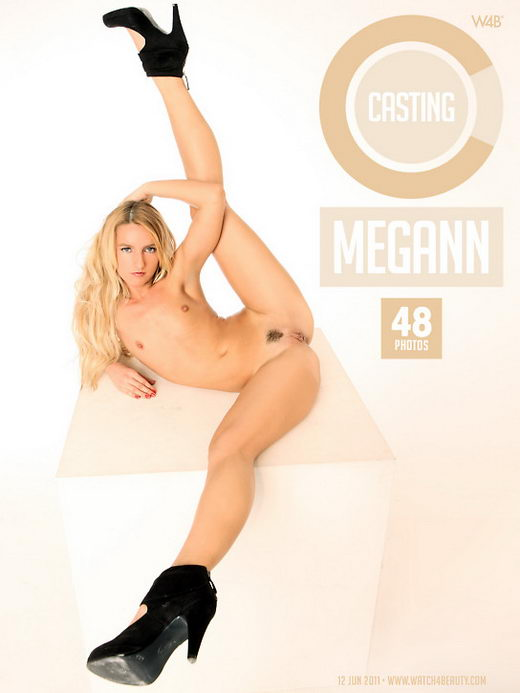 Megann - `Casting Megann` - by Mark for WATCH4BEAUTY