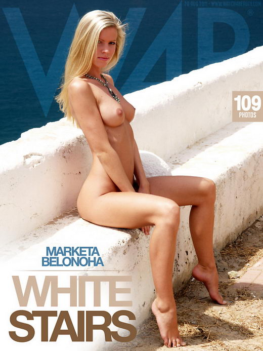 Marketa Belonoha - `White Stairs` - by Mark for WATCH4BEAUTY
