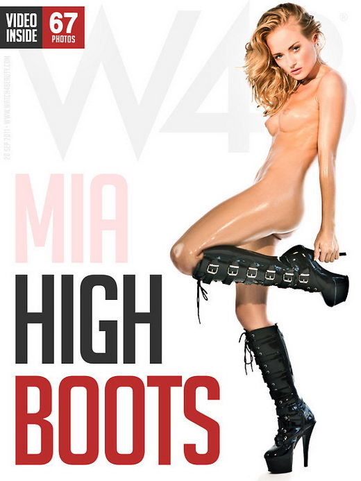 Mia - `High Boots` - by Mark for WATCH4BEAUTY