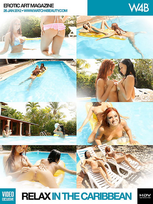 Ashley Bulgari & Angelica Kitten - `Relax In The Caribbean` - by Mark for WATCH4BEAUTY