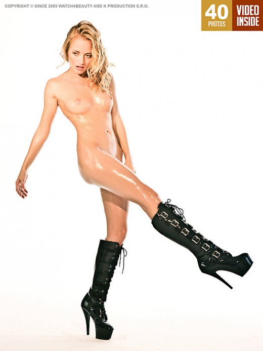 Mia - `W4B Magazine - Pussy In Boots` - by Mark for WATCH4BEAUTY