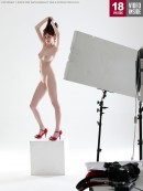 Kattie Gold - W4B Magazine - Ripping The Pantyhose